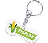 Multi Euro Bio Trolley Stick Keyring