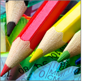 Add some colour and fun to your next promotion with packs of colouring pencils