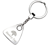 Ohio Triangular Metal Keyring