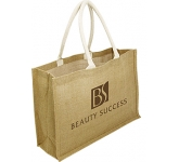Sherborne Expo Natural Jute Shopper Bag