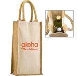 Halifax Combo Jute Bottle Bag