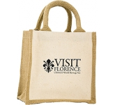 Camden Natural Cotton Jute Gift Bag