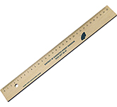 30cm Promotional Sustainable Wooden Ruler
