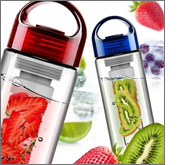 Fruit infusers offer a lot in terms of desig
