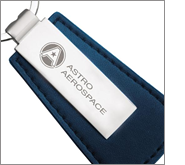 Extensive printing and branding options on all our leather keyrings