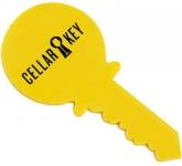 Key Shaped Acrylic Fridge Magnets