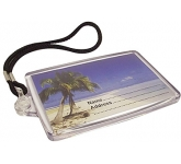Elite Translucent Luggage Tag