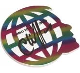 Large 2D Custom Shaped Acrylic Fridge Magnets