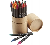 Colourburst Branded 30 Piece Crayon Set