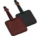 Cambrdige Square PU Bag Tag