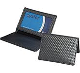Carbon Fibre Oyster Travel Card Holder