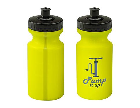 Vis 500ml Printed Water Bottle - Push Pull Cap