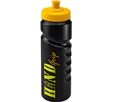 Contour Grip 750ml Sports Bottle - Push Pull Cap