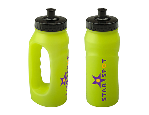 Marathon 500ml Glow Jogger Sports Bottle - Push Pull Cap
