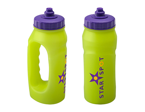 Marathon 500ml Glow Jogger Sports Bottle - Valve Cap