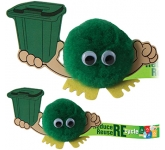 Recycling Bin Handholder Logo Bug