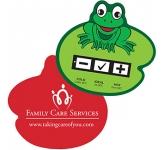 Frog Bath Water Temperature Gauge Card