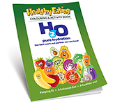 A4 Activity Colouring Book - Healthy Eating