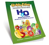 A5 Activity Colouring Book - Healthy Eating