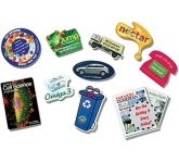 Mini Custom Shaped Ultra Thin Fridge Magnets