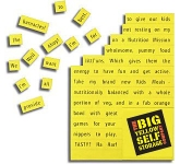 A6 Magnetic Word Games
