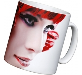 Durham Satin Photo Mug