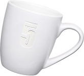 Mini Marrow Etched Mug - White