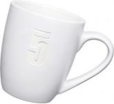 Mini Marrow Etched Mug - White