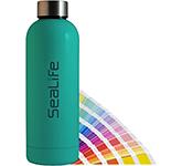 Eevo 500ml Pantone Matched Etched Metal Water Bottle