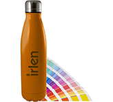 Atlantic 500ml Pantone Matched Etched Insulated Sports Bottle