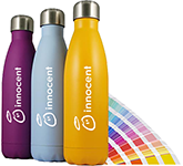 Pantone Matched 500ml Thermal Metal Drinking Bottle