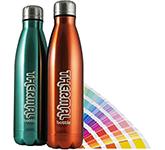 Atlantic 500ml Metallic Pantone ColourTint Insulated Sports Bottle