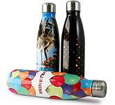 Javelin ColourBurst 500ml Metal Gym Water Bottle