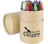 Scribble Printed Wax Crayon
