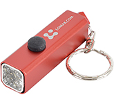 Cuboid Aluminium LED Keyring Torch