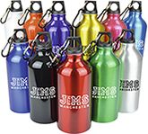 Chieftain 550ml Aluminium Bottles - Individual Names