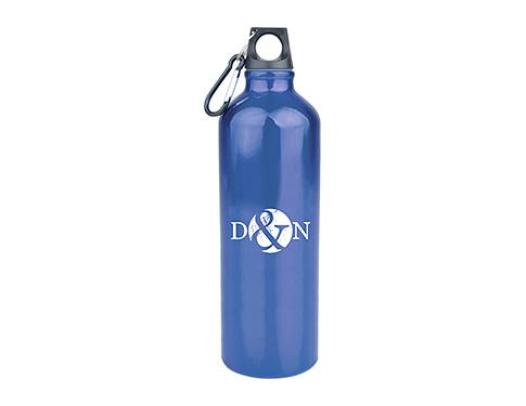 Energise 1 Litre Glossy Aluminium Drinks Bottle