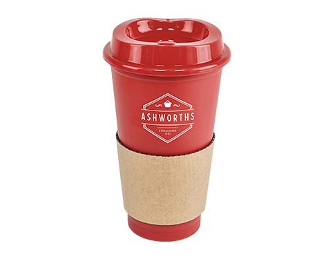 Bistro 500ml Plastic Take Away Mug