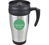 Nevada 400ml Promotional Stainless Steel Travel Mug