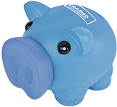 Percy Promotional Soft Feel Piggy Bank