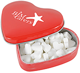 Heart Shaped Mint Tin