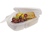 Active Split Cell Lunch Box With Cutlery