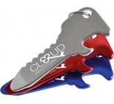 Branded Paragon Bottle Opener Keyring