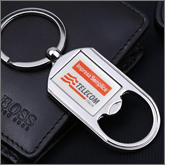 Engraved metal keyrings - the perfect corporate gift for discerning clients!