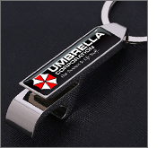 Perceived value is significantly higher when it comes to printed metal keyrings