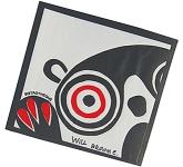 Square Wax Backed Tissue Coaster