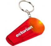 Whistle LED Keychain Light