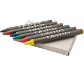 Junior Six Piece Wax Crayon Set