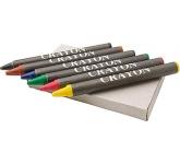 Junior Six Piece Wax Crayon Set