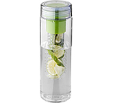 Riviera 740ml Fruit Infuser Printed Water Bottle